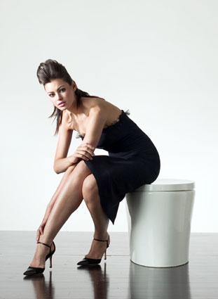Kohler Hatbox Toilet with model